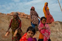At the Brickyard (Jeff Williams 03) Tags: women children kids brickyards working streetphotography candid street documentary nikon dhaka bangladesh
