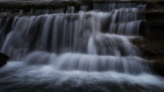 Flow (Jim Nix / Nomadic Pursuits) Tags: jimnix nomadicpursuits austin texas bullcreek bullcreekgreenbelt waterfall creek stream cascade luminar skylum sonya7ii sony 24240mm longexposure nature landscape hike trail