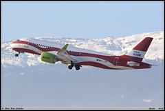 AIRBUS A220 300 airBaltic YL-CSL 55041 Genève février 2019 (paulschaller67) Tags: airbus a220 300 airbaltic ylcsl 55041 genève février 2019
