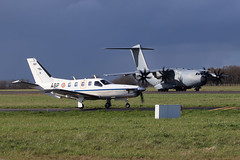 Airbus A400M-180 Armée de l'Air (French Air Force) F-RBAN (herpeux_nicolas) Tags: airbus airbusa400m180 airbusa400m a400m180 arméedelair frenchairforce cotam ctm faf frban msn073 cn073 tp400 attérissage rns lfrn rennessaintjacques inflight militaire military militaryaircraft militaryaviation frencharmy franceairforce taxiway turboprop turboprops socatatbm700 socota tbm700 runway alat eaat escadrilledavionsdelarméedeterre abp prague fmapb msn100 cn100