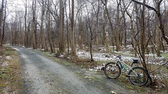 A Dusting (mcfeelion) Tags: cycling bike bicycle crosscountytrail annandaleva winter