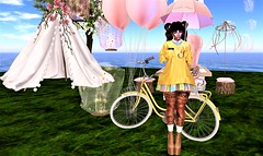 Spring March woderland (Victorya Dinasty) Tags: spring ballon secondlife photo bloggher dustbunny besom birdy
