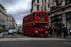 AEC Regent Street (e400olympus) Tags: rml2573 aec routemaster london transport smk735f