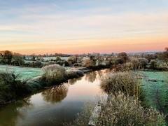 Bristol to Bath Cycle Path (gabbersjam) Tags: bath bristol uk gb england landscape dawn dusk seasons winter autumn galaxy s8 hdr view river