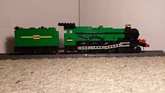 GWR 4900 Hall Class Locomotive (Milton7991) Tags: lego train hall class steam engine 4900 great western railway railroad track model railroading moc green locomotive
