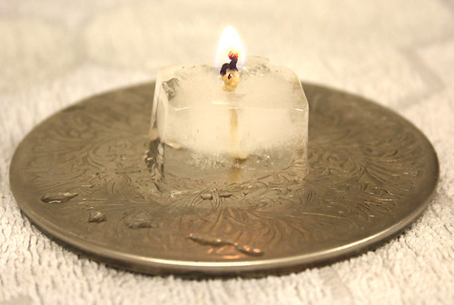 "Ice Candle. ""Hot or Cold"". Macro Mondays."