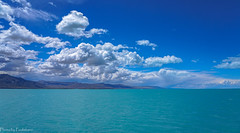 Blue expanse / Голубой простор (Vladimir Zhdanov) Tags: travel argentina patagonia lagoargentino andes elcalafate landscape nature lake water sky cloud mountainside
