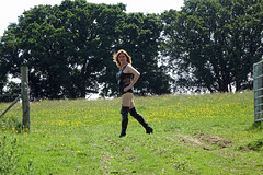 DSC02915a (swalsh58) Tags: mature outdoors farm sey leather boobs breasts naked bum