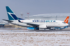 Westjet_Boeing737-700_C-GWCM_YYZ_FEB19 (Jonas_Evrard) Tags: aviation airport aircraft airplane airliner spotting spotter photography planespotting plane planes planespotter boeing toronto