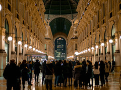 Galleria Vittorio Emanuele II by night (Slimanouche) Tags: galleria vittorio emanuele ii by night milano
