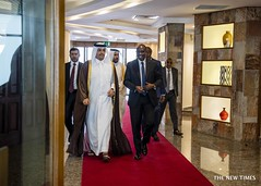 Pictorial: Quatar Prime Minister arrived in Rwanda, March 21, 2019 (thenewtimesrwanda) Tags: rwanda quatar visit airport prime minister kigali international