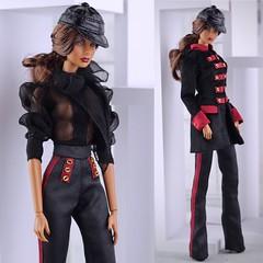 Fashion Royalty Agnes Vamp (Regina&Galiana) Tags: fashionroyalty fashion fashiondoll doll integritytoys fr3 nuface barbie agnes outfit agnesvamp