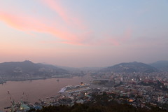 Nagasaki city view (Teruhide Tomori) Tags: city port landscape nagasaki japan japon ship boat building sea harbor bay kyusyu costaserena nabekanmuri 長崎 鍋冠山 港 市街 日本 九州 展望 クルーズ 長崎港 コスタセレーナ