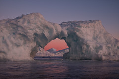 ice arch, lake superior (twurdemann) Tags: algoma arch canada cold cottrellcove fastice frozen fujixt1 highway17 horizon ice icearch icebridge icecave icicles lakesuperior lakesuperioricecaves landscape northernontario ontario sawpitbay scenic seascape spring sunset transcanadahighway viveza water xf1855mm
