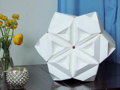 Sonobe Stars - HexStar 2 (pia miller) Tags: origami sonobe hexagon star