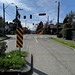 Residential street in Seattle - spring