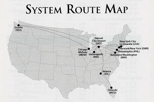 Flickriver: Airline Route Maps pool on