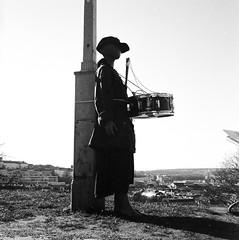 Dummy (rotabaga) Tags: sverige sweden svartvitt göteborg gothenburg skansenkronan blackandwhite bw bwfp lomo lomography lubitel166 mediumformat mellanformat ilford diy 6x6 120