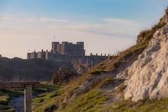 Dover Castle (BeerAndLoathing) Tags: 2018 december englandtrip england sunset uktrip whitecliffs canon kent sea dovercastle 77d castle trip winter harbour winter2018 uk dover canoneos77d sigma18300mm
