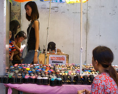 Watches and Engraving (Beegee49) Tags: street people watches engraving happy planet luminar sony bacolod city philippines asia happyplanet asiafavorites
