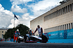 Nissan Formula E - Rome E-Prix Race (NISMO Global) Tags: abbfiaformulaechampionship formulae italy nissan nissanintelligentmobility oliverrowland rome romeeprix sebastienbuemi edams