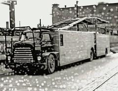 International: KAT 5-car rig (PAcarhauler) Tags: ih international carcarrier semi trailer truck tractor