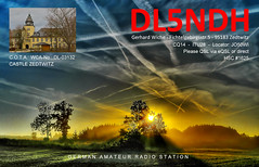 DL5NDH (GerWi) Tags: dl5ndh qsl qslkarte funkverbindung