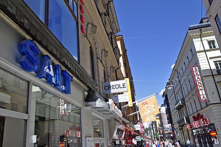 8dba3f8f35ac Drottninggatan (Queen Street) (AntyDiluvian) Tags: sweden stockholm 2013  june2013 drottninggatan queenstreet