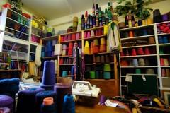 A colourful yarn. (chris p ramsey) Tags: yarn mills crafts weaving spinning cloth knitting
