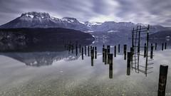 Entre lac et montagnes (imagene74) Tags: lacannecy poselongue groupenuagesetciel