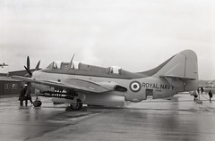 XA398. Royal Navy Fairey Gannet AS.1 (Ayronautica) Tags: ayronautica aviation scanned abbotsinch royalnavy airshow military faireygannetas1 xa398 september 1957