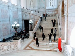 Marble Staircase Palazzo Reale Napoli. (Flyingpast) Tags: palazzoreale naples napoli marble staircase beautiful people royal palace museum historical residence building architecture historic impressive