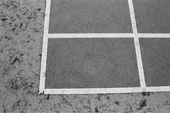 On the ground (Jbudhrani) Tags: playground hongkong basketball bw film kodak