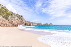 Porthcurno beach, Cornwall (Zoë Power) Tags: turquoisesea beach uk cornishcoast sand waves cornwall porthcurno sea