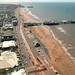 Blackpool promenade and beach