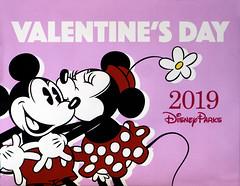 2019 Disney Parks Valentine's Day Sign (arteephact) Tags: 2019 amount africa animalkingdom february flower harambe kiss love mickeymouse minniemouse park polkadots sign sonya77ii store valentine valentinesday waltdisneyworld 1650mm28dt sal1650 crop