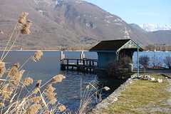 Jetty @ Bout du Lac @ Doussard @ Walk in Sources du Lac d'Annecy (*_*) Tags: february afternoon 2019 hiver winter savoie sourcesdulacdannecy walk randonnée nature hiking mountain marche europe france hautesavoie 74 annecy doussard