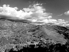 Between storms (EmperorNorton47) Tags: portolahills california photo digital winter mountain chaparral clouds blackandwhite monochrome landscape