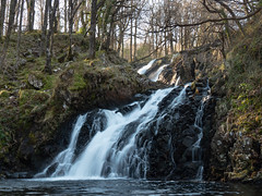 Rhaeadr Ddu Falls (Howie Mudge LRPS BPE1*) Tags: rhaeadrddu falls waterfall woods woodland water forest ganllwyd gwynedd wales cymru uk travel adventure panasonicdmcgx8 mft m43 microfourthirds landscape nature ngc lumixgvario14140f3556 panasonicgx8