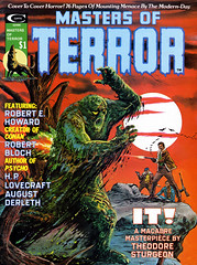 Masters of Terror #1 (1975), cover by Grey Morrow and Jim Steranko (gameraboy) Tags: mastersofterror 1970s 1 1975 cover greymorrow jimsteranko horror comics vintage art illustration