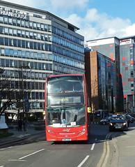abellio london 9537 SN12 ACO (mj.barbour) Tags: abellio london 9537 sn12 aco alexander dennis enviro 400 tram replacement bus