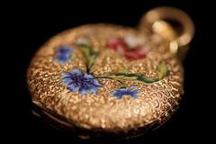 Watch (markus_kaeppeli) Tags: macromondays jewelry gold enamel
