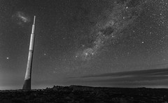 Shipwreck (Keith Midson) Tags: mtwellington tasmania mountain tower transmission stars night sky milkyway hobart sigma 24mm f14 art
