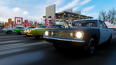 Drag Race (KillBones) Tags: forza horizon 4 musclecar voiture route
