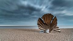 I hear those voices... (Photography by Julia Martin) Tags: juliamartinphotography thescallop aldeburgh longexposure coast england englishcoast pebblebeach sculpture