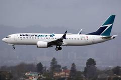 WestJet | Boeing 737-8 | C-FNAX | Los Angeles International (Dennis HKG) Tags: aircraft airplane airport plane planespotting canon 7d 100400 losangeles klax lax westjet wja ws boeing 737 7378 boeing737 boeing7378 737max boeing737max cfnax