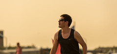 Nike guy. (Alex-de-Haas) Tags: 70200mm d750 dutch nederland nederlands netherlands nikkor nikon scheveningen zuidholland beach beachvolleyball beachvolleybal competitie competition evenement event fit fitdutchies fitness fun game plezier sand sport sports strand summer sun sunny volleybal volleyball wedstrijd zand zomer zon zonnig