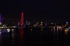 London at Night (peterbooker774) Tags: lights london londoneye bigben cityscape night thames riverthames river