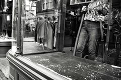 Self Portrait (Bury Gardener) Tags: monochrome mono burystedmunds bw blackandwhite britain suffolk streetphotography street streetcandids snaps strangers candid candids people peoplewatching folks nikond7200 nikon england eastanglia uk 2019 abbeygatestreet