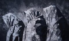 von Bleiben (Christian Haupt) Tags: stencil serigrafie sprayart spraypaint painting pochoir art kunst malerei monochrom acryl